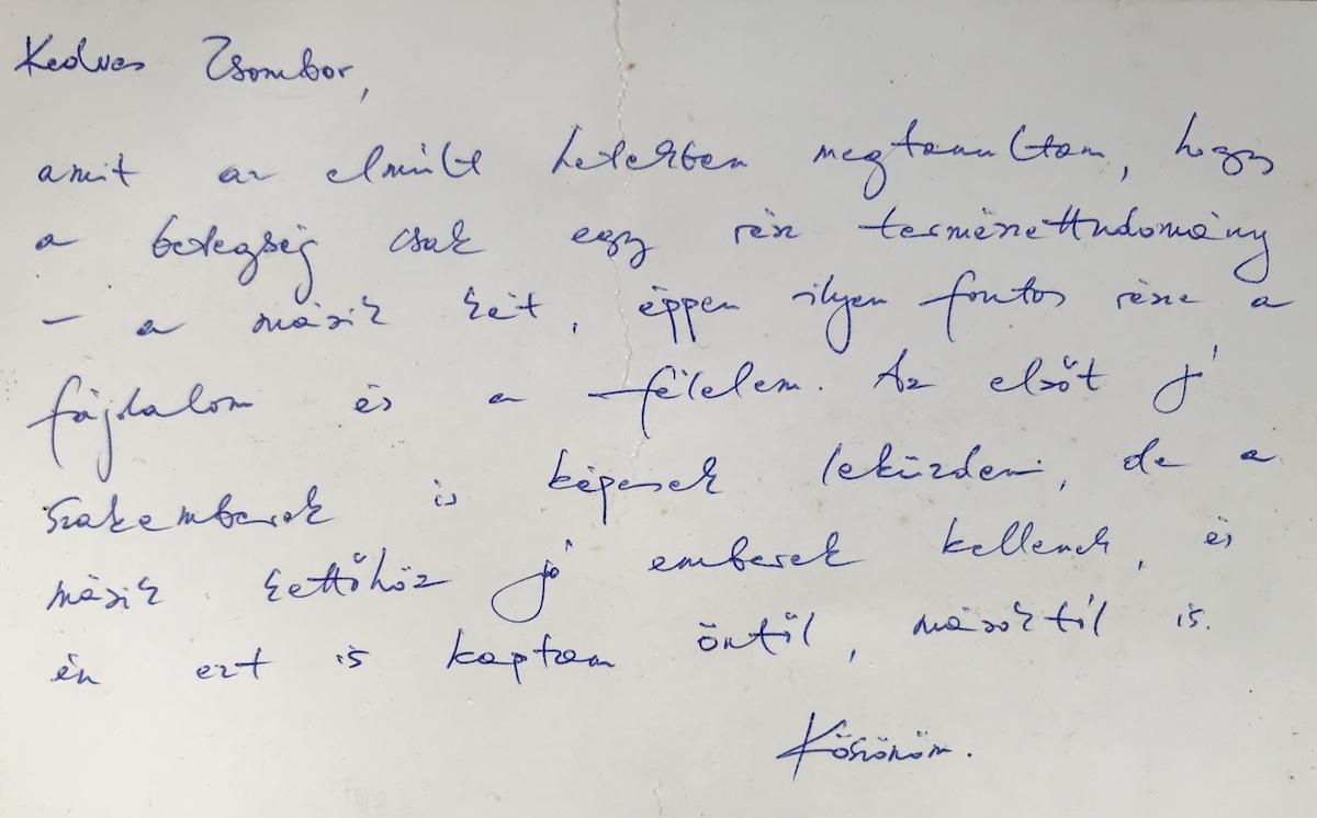 Dr. Varga Zsombor vélemény